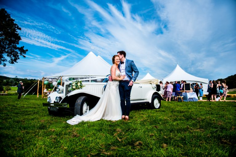 Festival Wedding At Ogmore Castle