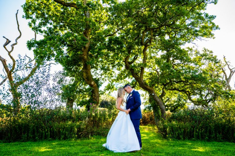 Talia and Johnathan at The Oldwalls Gower