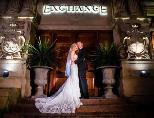 The Black Tie Wedding of Ruth and Scott at Exchange Hotel Cardiff