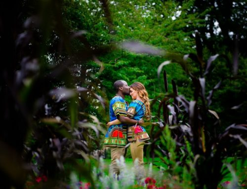 Dancing In Amongst The Flowers | Engagement Session With Irene And Enoch