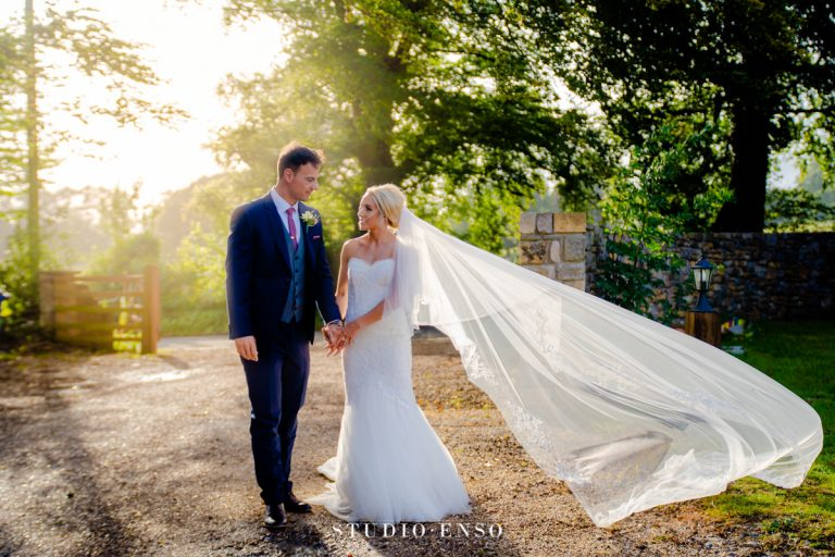 Laura and James Summer Wedding at St Tewdrics House Chepstow